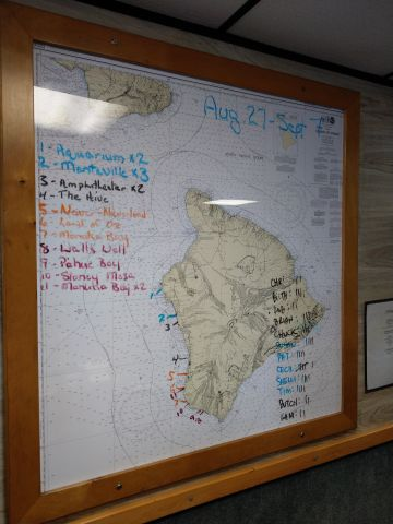 Kona Dive Sites