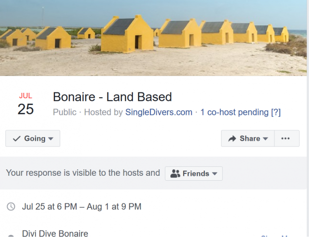 Bonaire FB Event